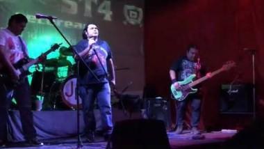 Concierto de rock con Piloto y Resurrección