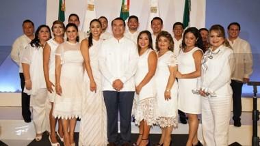 Dirigentes empresariales dispuestos a trabajar muy de cerca con Renán Barrera