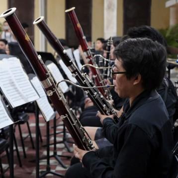 Concierto de Camerata y Sinfónicas del Cemus, en Itzimná