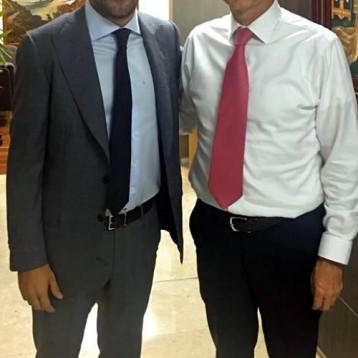 Pablo Gamboa y Enrique de la Madrid comparten ideas a favor del sector turístico en Yucatán