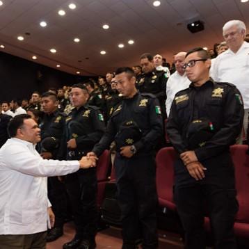 Continúa profesionalización de agentes de la SSP