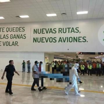 Hombre armado genera pánico en aeropuerto de Hermosillo