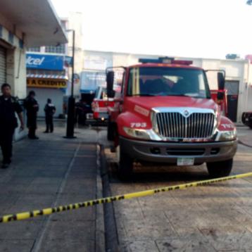 Se incendia oficina en el Centro