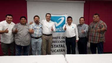 Renuncia David Barrera al PRD, se suma al PANAL