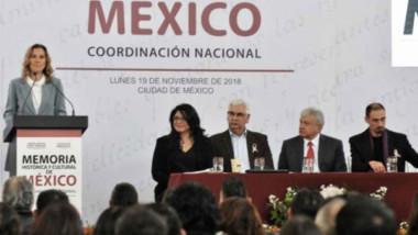 Encabezará Gutiérrez Müller consejo para salvaguardar historia del país