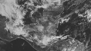Frente Frío 11 se apiada de la Península de Yucatán