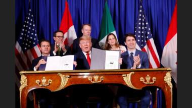Estados Unidos, México y Canadá firman el T-MEC en Buenos Aires