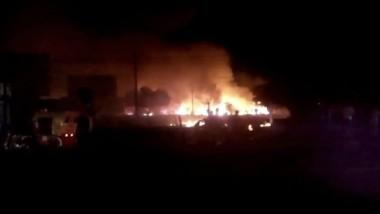 Explota tianguis de pirotecnia en Morelos; hay dos muertos