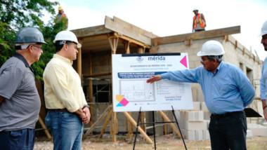 Supervisan construcción del comedor del Centro Juvenil Salesiano Alborada