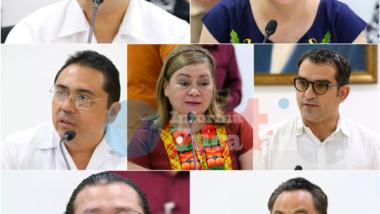 Comparecen candidatos a presidente de la Codhey