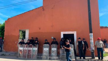 Ejidatarios de Muxupip, defienden sus tierras de especuladores