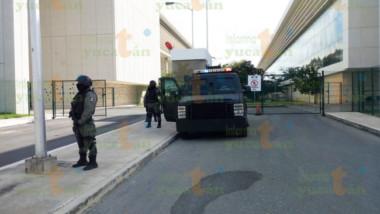Fuerte operativo de seguridad en Mérida por traslado del Chelelo
