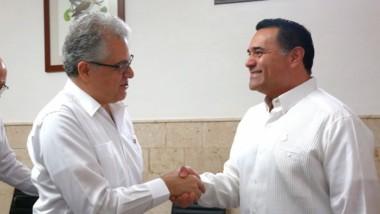 Embajador de Líbano en México visita Mérida