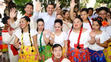 El 4.5% de la población en Mérida, tiene alguna discapacidad