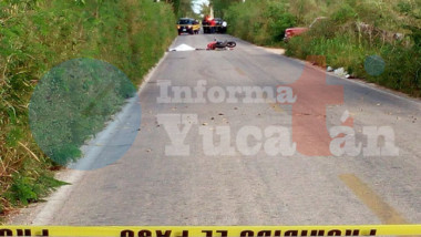 Motociclista pierde la vida en la Conkal – Chicxulub