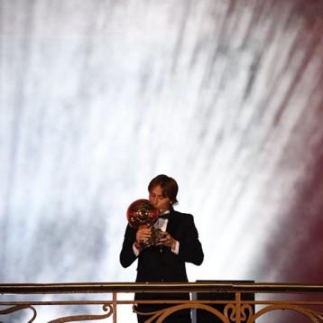 Modric, ganador del Balón de Oro 2018