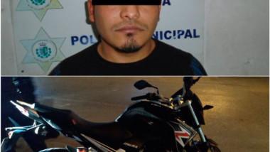 Intentó robar una moto en el Centro, lo detuvieron antes de huir