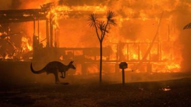 Altas temperaturas avivan los incendios en Australia
