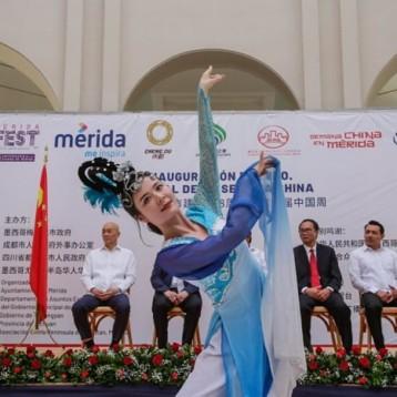 Comienza el sexto festival de la Semana China en Mérida