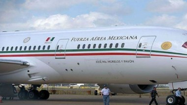 Gobierno 'remata' avión presidencial en 130 mdd; Calderón lo compró en 218