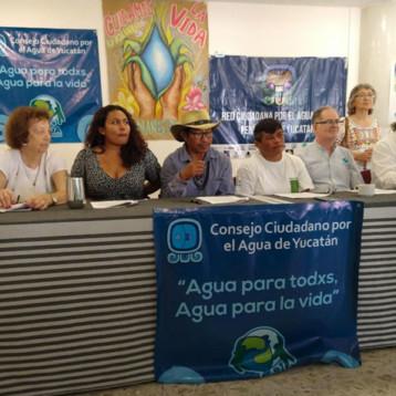 Piden ONG's una Ley Nacional de Aguas democrática y con sentido social.