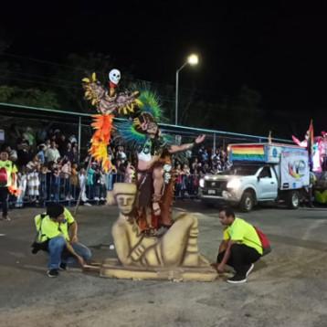 Noche de leyendas en el Carnaval de Mérida