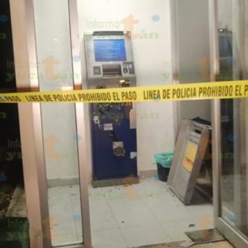Intentan robarse un cajero automático en Ciudad Caucel