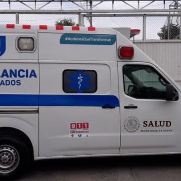 Entrega SSY ambulancia al municipio de Tizimín