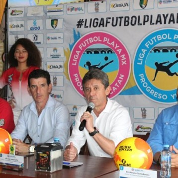 Presentan Liga de Fútbol de playa avalada por la FMF