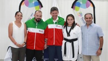 Selección yucateca de taekwondo, rumbo al regional de los Juegos Conade