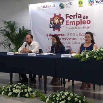 Ofertarán 800 plazas laborales para mujeres en la Feria del Empleo de la Mujer