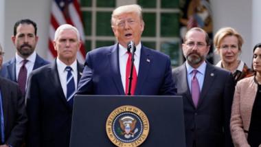Trump: mi labor será buena si sólo mueren entre 100 mil y 200 mil