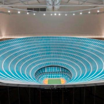 ¿Un estadio de un millón de personas? Artista lo diseñó ¡Y así se ve!