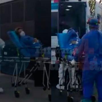 Hospitalizan a paciente sospechosa de covid19 (video)