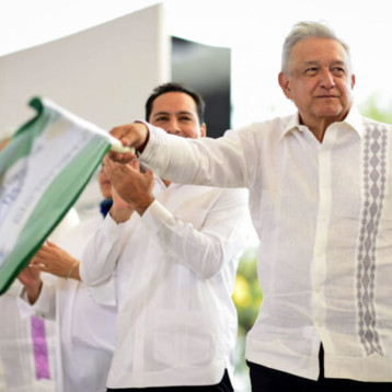 AMLO anuncia gira para poner en marcha obras del Tren Maya, pide a ciudadanos que no vayan a verlo