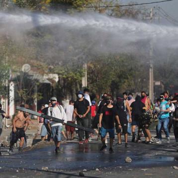 Disturbios sacuden a Chile: 'Tenemos hambre'