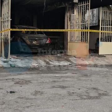 Incendian vivienda de enfermera en Mérida