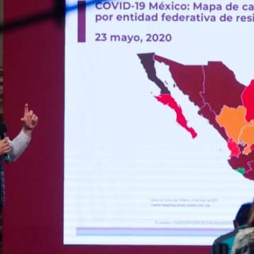 México rebasa las 7 mil muertes por COVID-19