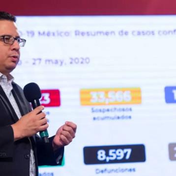 México supera a Alemania en número de muertos por COVID-19 con 8,597