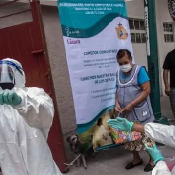 México registra récord en número de muertes y en casos activos de COVID-19
