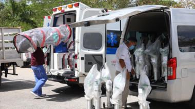 Equipan más ambulancias para la contingencia