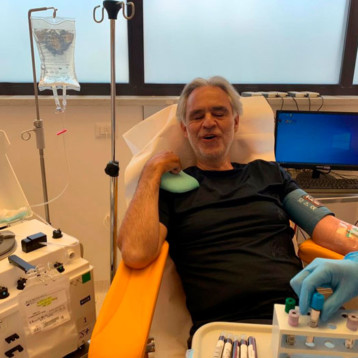 Andrea Bocelli revela que tuvo covid-19