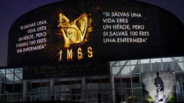 """Reconocen al personal de salud del IMSS frente al COVID-19 con el """"Mural a los Héroes de la Salud"""""""