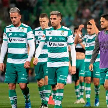 Ocho jugadores de Santos Laguna dieron positivo por Covid-19