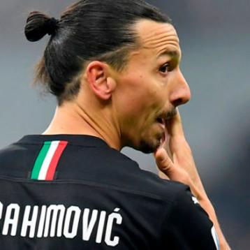 Ibrahimovic se lesiona y el Milan teme que sea grave