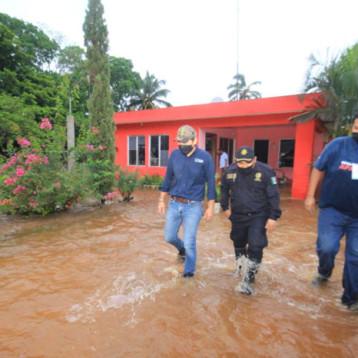 Evalúan daños provocados por las lluvias en Tekax
