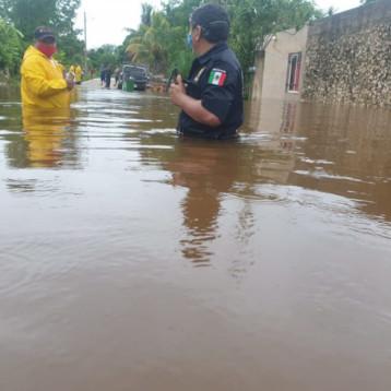 """'Alerta Amarilla' en Yucatán por 'Cristóbal"""""""