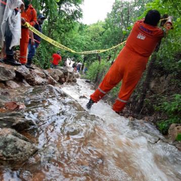 La tormenta tropical Cristóbal provoca inundaciones en Yucatán