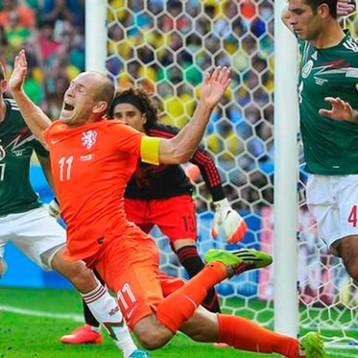 A 6 años del '¡No era penal!' entre México y Holanda