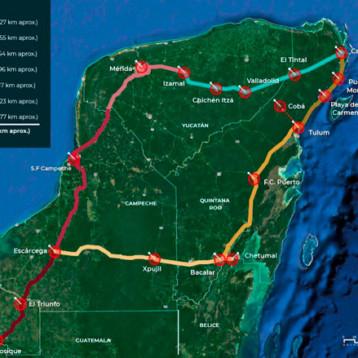 Entre un 20 y 30 por ciento de la derrama de la obra del Tren Maya sería para Yucatán